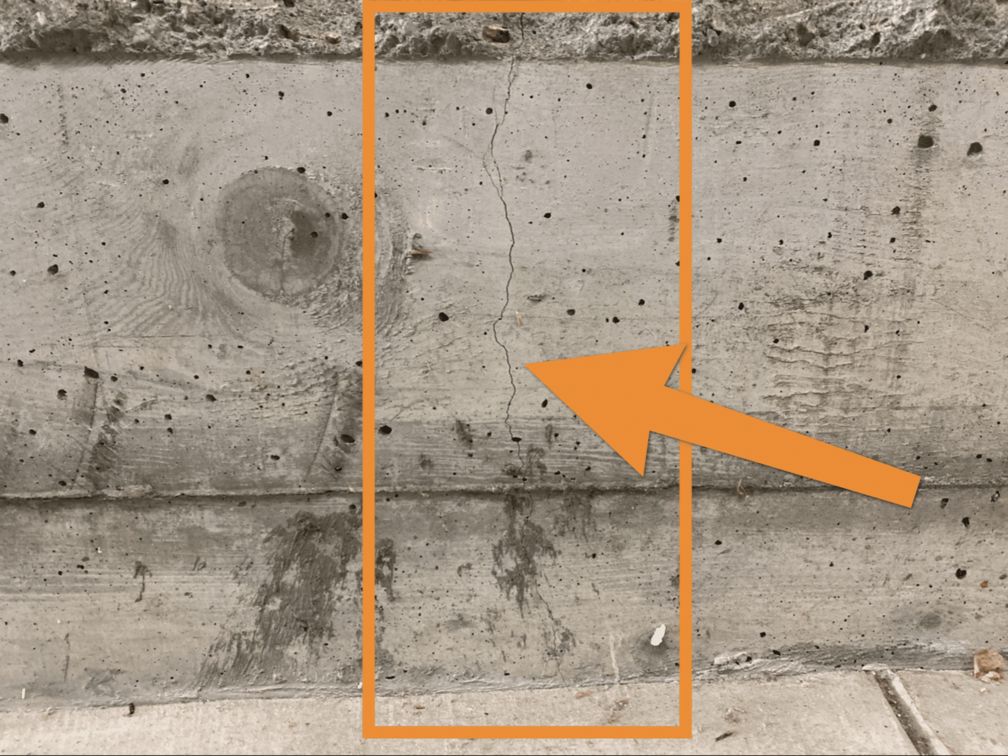 Foundation Cracking